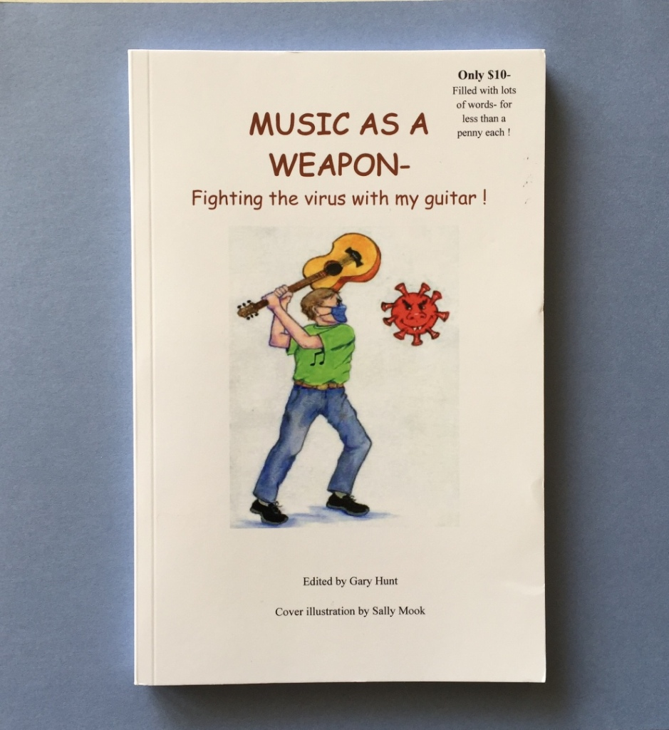 Image of a book titled Music As a  Weapon