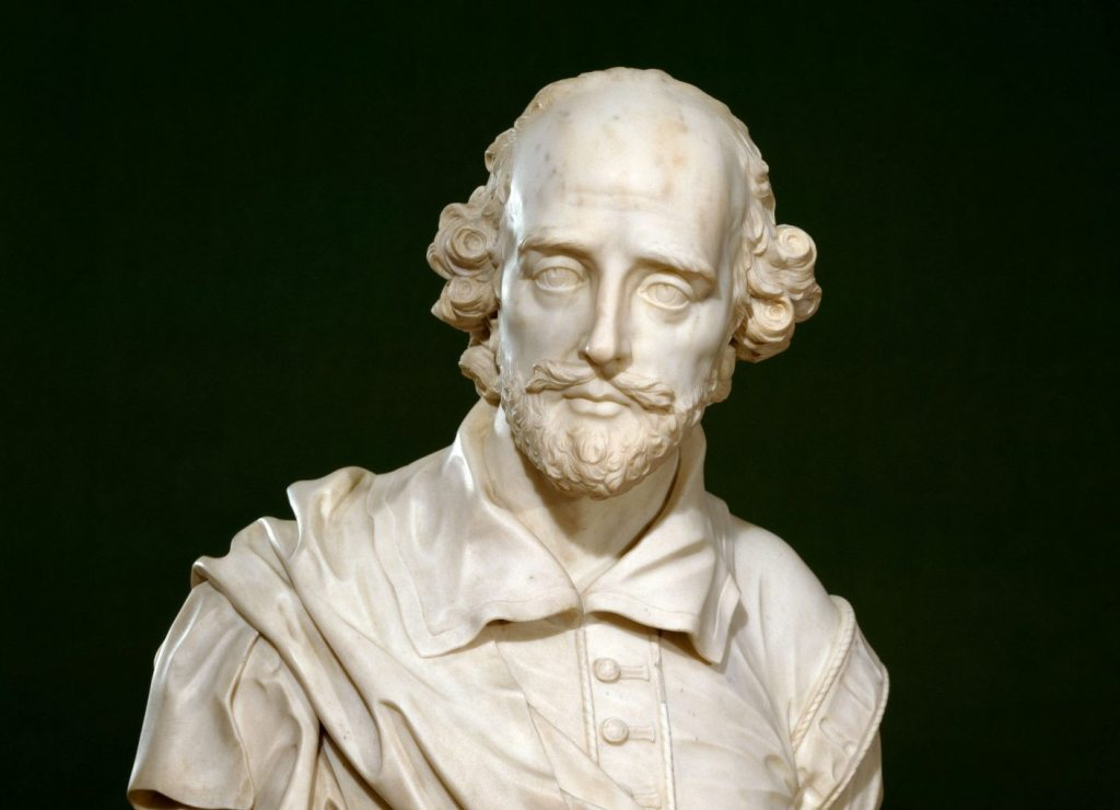Image of Shakespeare museum bust